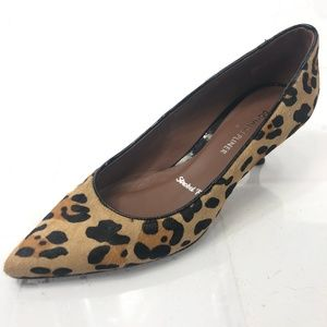 DJP Donald J Pliner Womens 8 Cheetah Kitten Heels